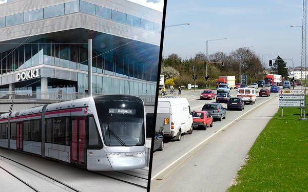 21 stop: Transporttiden fra Brabrand fordobles med letbanen
